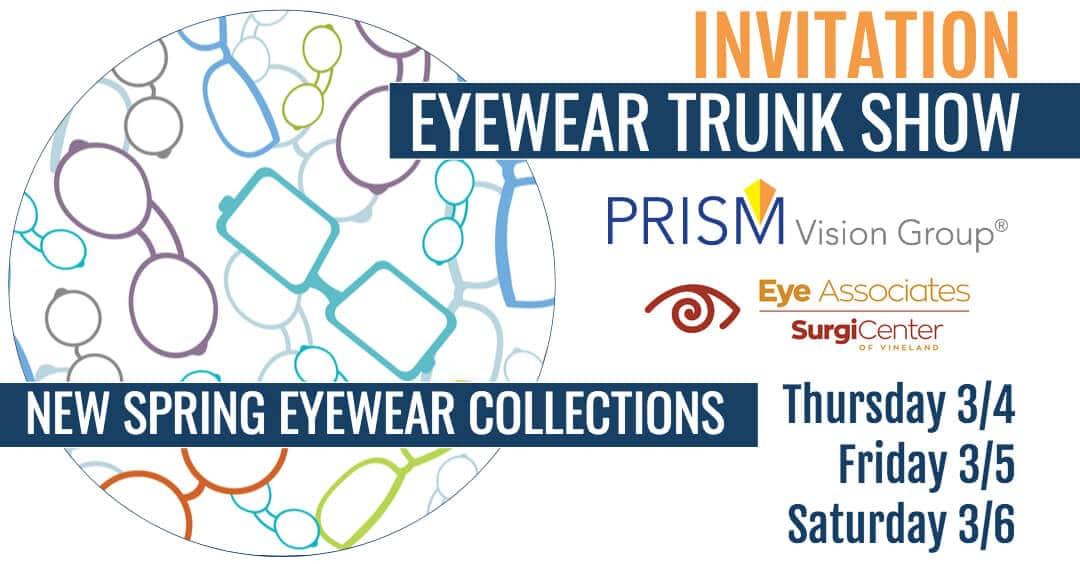 Special Savings at Eyewear Trunk Show!